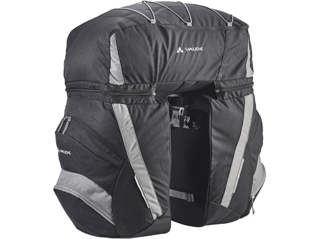 Klettergurt Gelbox : Vaude se traveller comfort 2 bike bag black anthracite campz.de